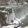 LR, BWCNA, Hollins Mill Park, Dam, Winter, Snow, Ice