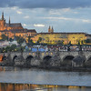 Bob Ludwig , Charles Bridge and Castle, HDR 5 images, Prague