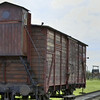 Bunkie Ludwig, Transport car to take people to Birkenau