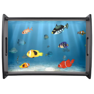 Fish In The Ocean Party Tray