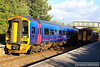 158956 arrives into Warminster  16/09/13
