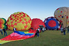 36th Annual Huff 'n Puff Balloon Rally 1 of 4<br /> Morning launch and evening glow/tether at 2011 Huff 'n Puff Hot Air Balloon Rally in Topeka, Kan.<br /> Rick McPherson<br /> <br /> Honorable Mention - Photojournalism