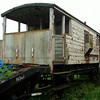 BR 950003 Goods Brake Van (Now At Ecclesbourne) 09,08,2008