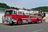 SAINT CLAIR, PA TOWER 701 - 1972 MACK CF 795/BAKER 75' EX-POMTPON FALLS FIRE CO. WAYNE, NJ