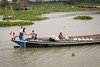 One of the many boats on the river that I presume are used to gather a particular kind of clay to fire bricks. Bangladeshis are amazingly friendly.
