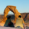 Watching Delicate Arch
