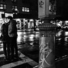 Kissing Couple - Night - New York City