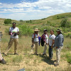 LEAF 2014, Atlanta interns in Wyoming - Heart Mountain Ranch
