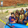 LEAF 2014, Atlanta interns in Wyoming - rafting the Shoshone River