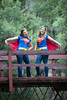 """SuperGirls""<br /> <br /> I have got AWESOME nieces and nephews. Here are Rebecca Halley and Sarah Forseth, first cousins, in their SuperGirl costumes with capes. They came up with the idea for this concept and I just got the honor of taking their photos. I can't remember the last time I have had so much fun at a photo shoot! Taken July 27, 2014 at the Chalk Creek Trailhead of the Colorado Trail, near Buena Vista, Colorado, USA."