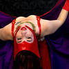 Belly Dancer - Red 2 Purple Veil
