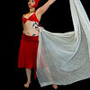 Belly Dancer Red Set 3 - Form and Motion