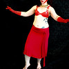 Belly Dancer Set 5 - red dancer