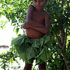 Girl with Leaf Skirt