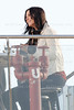 Courteney Cox during the set of Cougar Town at the Barlo Hotel in Venice,California.