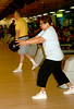 Sara Kirlland of Chester lets go of the ball during the Delco Senior Games at Sproul Lanes in Springfield. Photo by Anne Neborak, Delco News Network