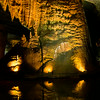 the Goliath stalagmite in Cathedral Caverns