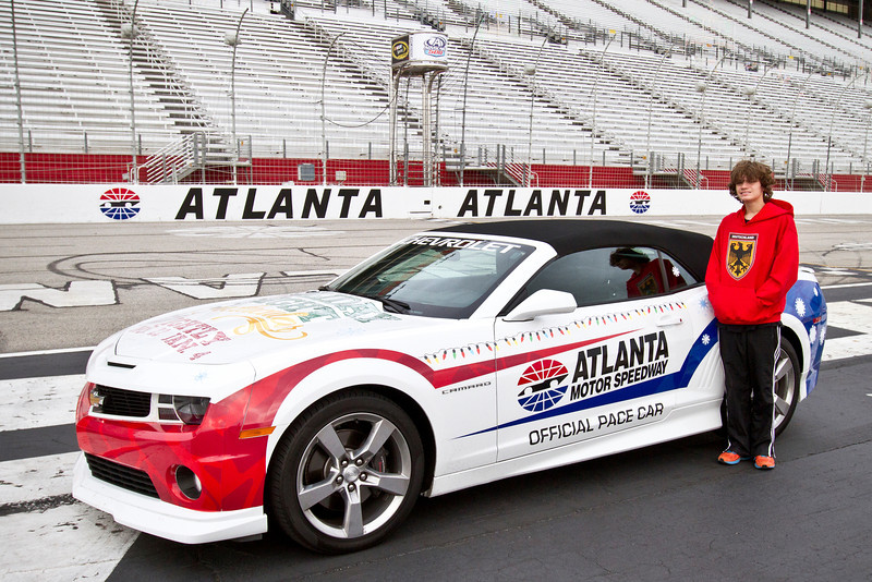 Ira's Pace Car Ride at Atlanta International Motor Speedway in Hampton, GA