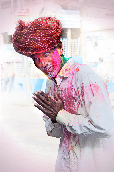 Elderly Man in India