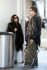 Jenifer Bartoli et Nicolas a Los Angeles Airport