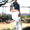 Pregnancy portraits of a beautiful young woman in Jacksonville, Florida.