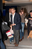 Nicolas Sarkozy,Carla Bruni and Giulia seen in LAX