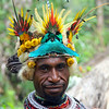 Man with Bird Feather Headress