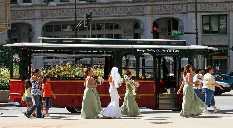 Wedding by the Trolley