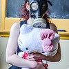 Pepper Gas mask and Hello Kity