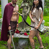 Pete and Amanda - Peasants and Goddesses photo shoot