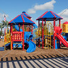 Children playground at Lasselle Sports Park in Moreno Valley, California.