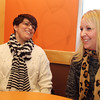 Olga Gauthier of Dracut, left, and her new kidney donor Debbi Stapleton of Townsend, right. Gauthier's first kidney transplant failed and she is receiving a kidney from Stapleton at Lahey Clinic on Monday, January 6. They are at Dunkin' Donuts in Chelmsford to meet with a reporter. (SUN/Julia Malakie)