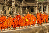 Young monks, Angkor Wat