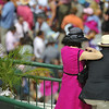Couple at Churchill Downs, Louisville, Kentucky
