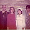 Wedding 1971 Oscar, Mary Jean, Jeanette, Fern