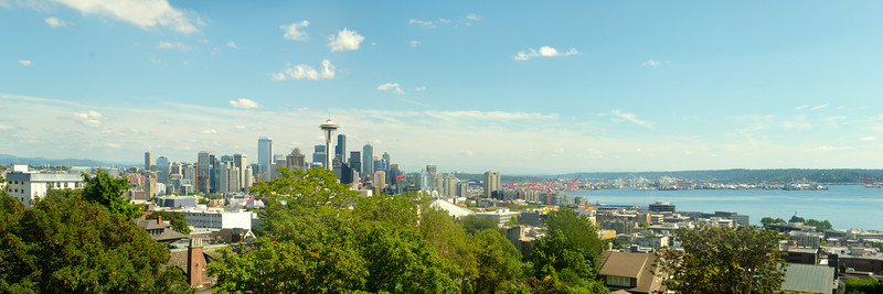 Seattle, Washington from Kerry Park