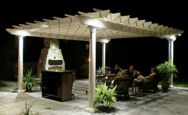 873 - NJ - Pergola at Night
