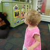 Mollys first day of day care in Albany GA, She just looked around for   a while and was very quiet