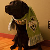 March 2009 Gander is a Seattle Sounders FC Fan too!!! GO SOUNDERS!!