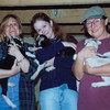 Leigh Phia Ginny with lambies