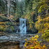11-7-13 Upper North Falls of Silver Falls State Park Oregon