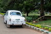 I love this car that I saw in Bangalore.  It is an Ambassador.  Thank you Terry.