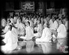 Bhuddist Novices at Prayer at Monastery in Oudong