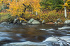 Stream turbulence, close to Lake Placid, October 05 2012