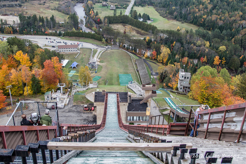 Top of a Ski Jump, Lake Placid, October 05 2012