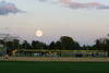 Yorkville IL Moonrise 100714 2