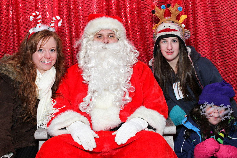 Amica Mutual Insurance Co Family Fun Night with Santa