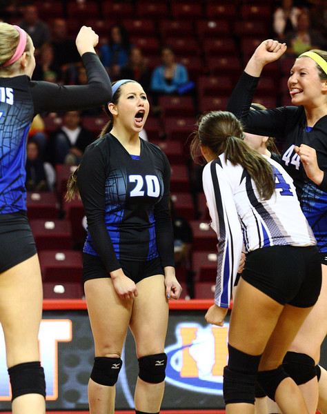 Riverdale Falls In Semifinal At State Volleyball