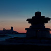 Inukshuk at Nightfall