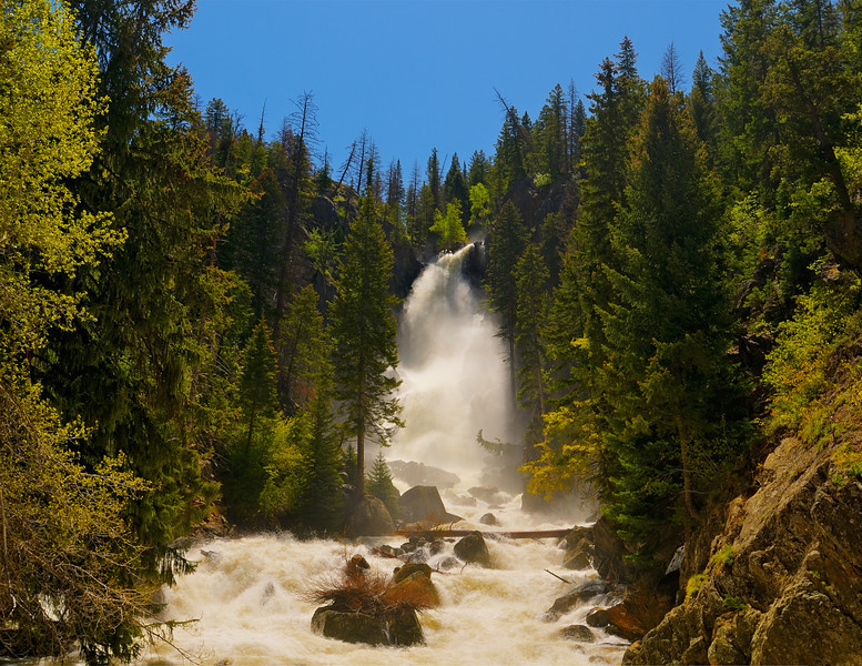 Fish Creek Falls at the Spring Rise